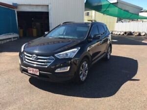 2013 Hyundai Santa Fe DM Highlander CRDi (4x4) Black 6 Speed Automatic Wagon Berrimah Darwin City Preview