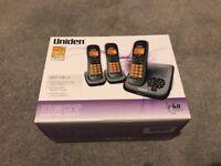 Uniden Cordless Phone Set of 3 (DECT 1535 + 2)