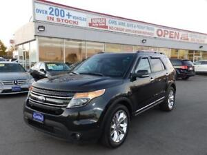 2014 Ford Explorer Limited,AWD,NAVI,CAMERA,USB,1-OWNER CERTIFIED