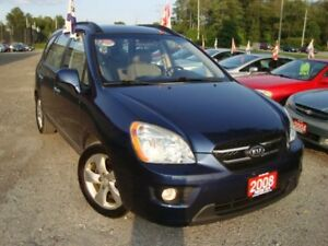 2008 Kia Rondo EX Premium 7 Passenger Leather & Sunroof
