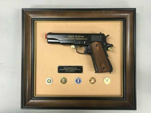 Franklin Mint John Wayne Armed Forces Commemorative .45 Automatic 1911 Pistol
