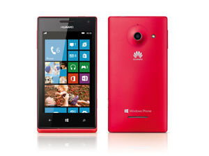 Huawei Ascend W1 - 4GB - Pink (O2) Windows 8 with £10 O2 Pay & Go sim