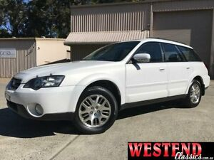 2005 Subaru Outback B4A MY05 PREMIUM PACK White 4 Speed Automatic Wagon Lisarow Gosford Area Preview