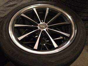 Custom Wheels and tires off of 2010 cadillac cts