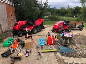 Garden ride on mowers Countax c60, and multiple tools £ 5000