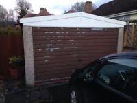 Free Concrete sectional garage