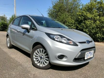 2010 Ford Fiesta WT LX Silver 5 Speed Manual Hatchback Hoppers Crossing Wyndham Area Preview
