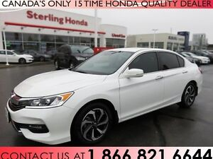 2017 Honda Accord SE | 1 OWNER | NO ACCIDENTS | LOW KM'S | ALMOS