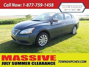 2015 Nissan Sentra - Automatic - Factory Warranty - Loaded!!