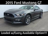2015 Ford Mustang GT Premium ~ Loaded w/Every Available Option