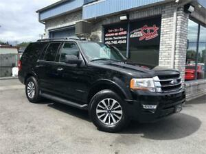 2017 Ford Expedition XLT 4X4 3.5l v6 CUIR 8 PASSAGERS CAMERAS