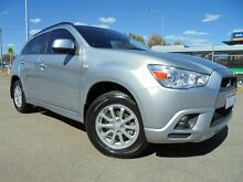 2011 Mitsubishi ASX XA (2WD) Silver 6 Speed Continuous Variable Wagon Welshpool Canning Area Preview