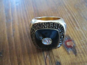 BOBBY ORR BOSTON BRUINS STANLEY CUP RING 1970 NICE