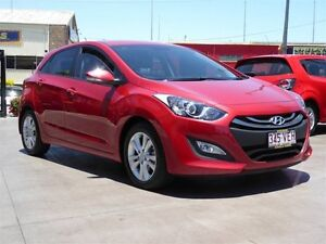 2014 Hyundai i30 GD MY14 SE Red 6 Speed Manual Hatchback Strathpine Pine Rivers Area Preview