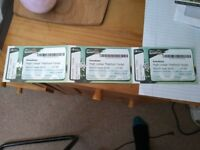 x1 Kasabian Tickets at Thetford Forest