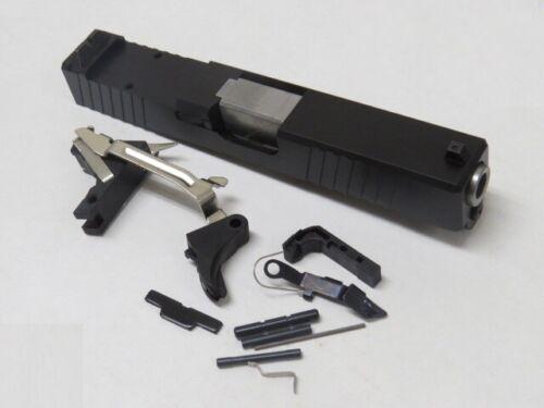 Complete Upper for Glock 19 9mm Slide With SS Barrel & LPK. Black RMR