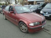 2001 Y BMW 3 SERIES 1.9 316I SE 4D AUTO 104 BHP