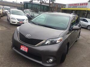2013 Toyota Sienna SE,8 SEATER,NO ACCIDENTS