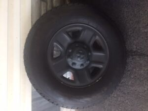 Dodge 8 bolt rims and snow tires