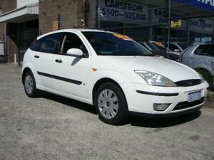 2005 Ford Focus LR CL White 4 Speed Automatic Hatchback Wangara Wanneroo Area Preview