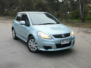 2008 Suzuki SX4 GYA Blue Aqua/ 4 Speed Automatic Hatchback Mile End South West Torrens Area Preview
