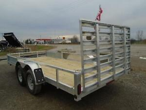 16' ALUMINUM UTILITY TRAILER - ATV RAMPS - BOTTOM LINE PRICING! London Ontario image 3