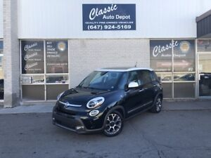 2014 FIAT 500L TREKKING*LEATHER*SUNROOF*NAVIGATION*NO ACCIDENTS*