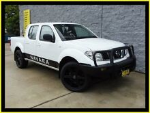 2009 Nissan Navara D40 RX (4x4) White 6 Speed Manual Dual Cab Pick-up Penrith Penrith Area Preview
