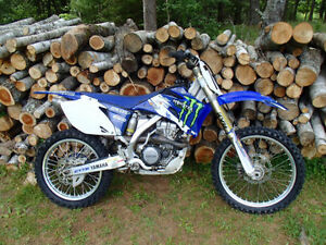 Yamaha YZF250 with papers