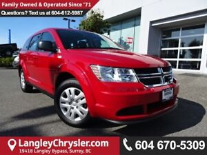 2016 Dodge Journey *ACCIDENT FREE * LOCAL BC CAR *