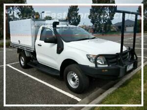 2013 Ford Ranger PX XL White 6 Speed Manual Cab Chassis Pakenham Cardinia Area Preview