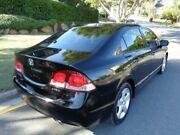 2009 Honda Civic MY09 VTi-L Black Metallic 5 Speed Manual Sedan Chermside Brisbane North East Preview