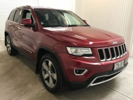 2014 Jeep Grand Cherokee WK MY15 Limited (4x4) Deep Cherry 8 Speed Automatic Wagon