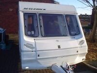 caravan abbey maverick 17ft 1999