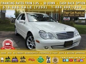 2007 Mercedes-Benz C-Class C280 - Leather - Sunroof - Low Kilome