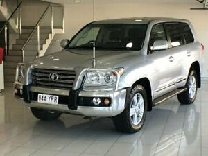 2013 Toyota Landcruiser VDJ200R MY12 Sahara Silver 6 Speed Sports Automatic Wagon Southport Gold Coast City Preview