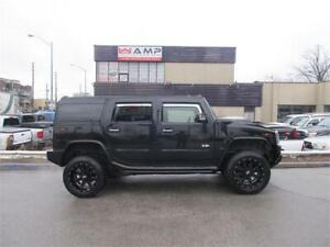 2006 HUMMER H2 AWD 6.0L VORTEC SUNROOF DVD LEATHER ALLOYS