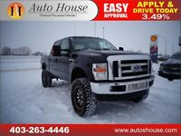 2008 ford f350 diesel crew cab lariat 4x4 LIFTED