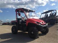 USED 2009 Kawasaki Teryx 750 Red ONLY $6995.00