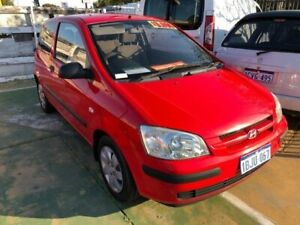 2003 Hyundai Getz TB GL Red 5 Speed Manual Hatchback St James Victoria Park Area Preview