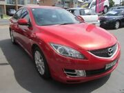 2008 Mazda 6 GH Classic Red 6 Speed Manual Sedan Greenacre Bankstown Area Preview