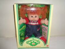 CABBAGE PATCH KIDS RED HAIR DENIM OUTFIT NEVER REMOVED FROM BOX Como South Perth Area Preview