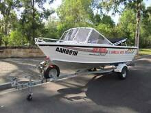 Stacer 400 aluminium fishing boat in excellent condition Camden Park Wollondilly Area Preview