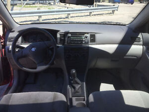 2006 Toyota Corolla CE With 5Spd Manual Transmission Cambridge Kitchener Area image 4