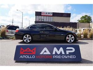 2007 BMW 3 Series 335i Coupe Convertible Manual Performance Pkg!