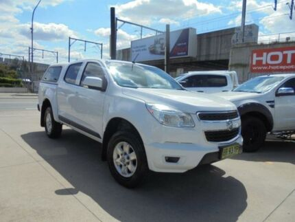 2012 Holden Colorado RG MY13 LT White Sports Automatic Utility Granville Parramatta Area Preview
