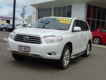 2010 Toyota Kluger GSU45R Grande AWD White 5 Speed Sports Automatic Wagon Garbutt Townsville City Preview