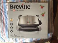 *NEW AND UNOPENED* Breville Cafe Style 3 slice sandwich press