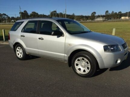 2004 Ford Territory SX TX (RWD) Silver 4 Speed Auto Seq Sportshift Wagon West Gosford Gosford Area Preview