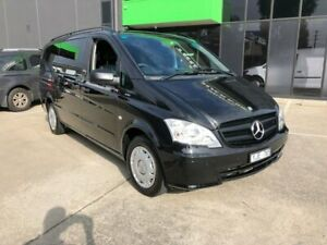 2011 Mercedes-Benz Vito MY11 113 CDI Black 5 Speed Automatic Wagon Preston Darebin Area Preview